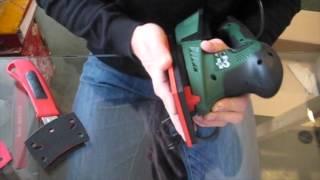 Unboxing Bosch Home and Garden Multischleifer PSM 200 AES