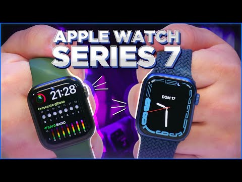 APPLE WATCH SERIES 7: UNBOXING, HANDS ON E COMPARATIVOS!