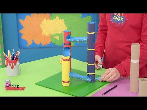 Art Attack - Marbles - Official Disney Junior UK HD