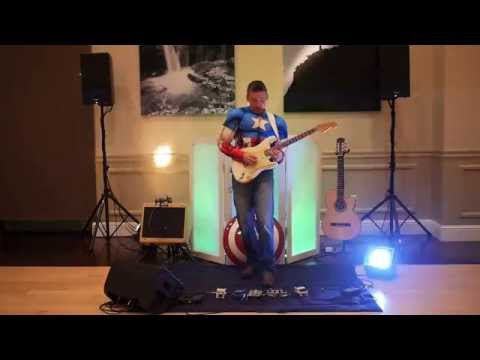 Michael Sean Miller on Electric Guitar as Captain America 2015