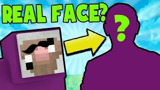 DOES PURPLE SHEP HAVE A REAL FACE? | Minecraft QA