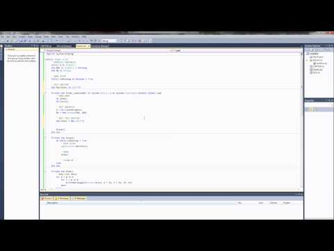 VB.NET Programming Tutorial – Creating Classes and Managing Object Arrays (Visual Basic .NET)