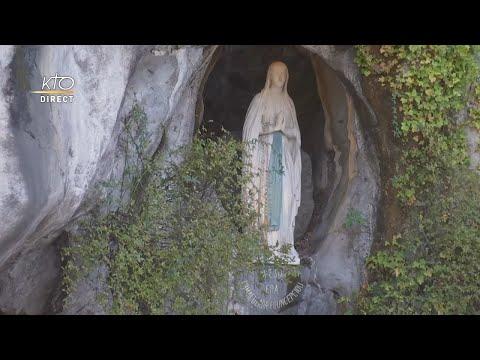 Chapelet du 1er novembre 2020 à Lourdes