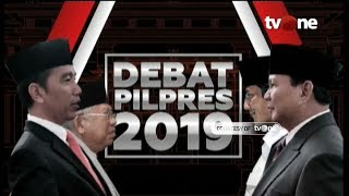 Download Video [FULL] Debat Capres dan Cawapres Pilpres 2019 MP3 3GP MP4