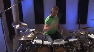 """Finger Eleven """"Paralyzer"""" Drum Cover By Jared Falk"""