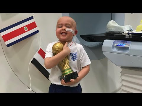 5-Year-Old With Brain Cancer Awarded Special World Cup Trophy for Bravery