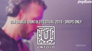 Don Diablo @Untold Festival 2019   Drops Only