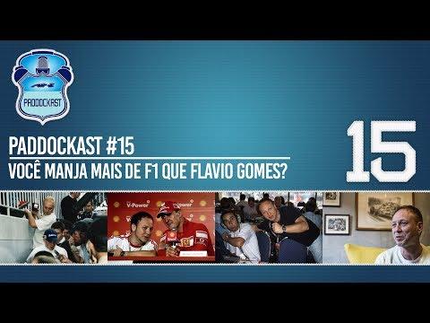 Você manja mais de F1 que Flavio Gomes? | Paddockast #15