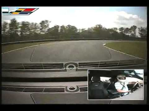 2011 Cadillac CTS-V Coupe: Lap Footage - Uncut - with Colum Wood, AutoGuide.com