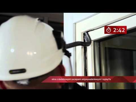 Okno antywłamaniowe w klasie RC2 - Vetrex V82 ProSafe - zdjęcie