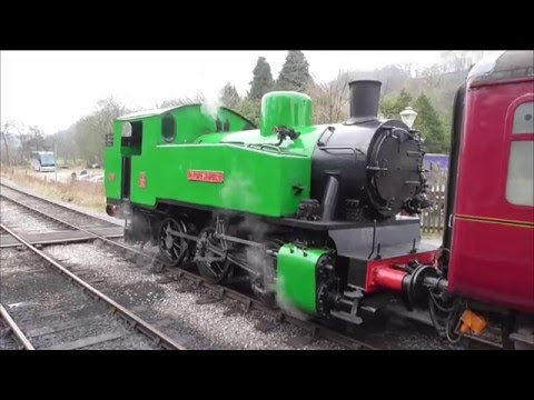 The Churnet Valley Railway Winter Steam Gala at Kingsley & F…
