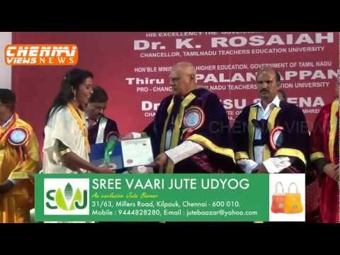 Tamil Nadu Teachers Education University video cover1