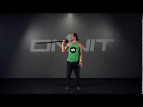 Outward Press Steel Mace Exercise