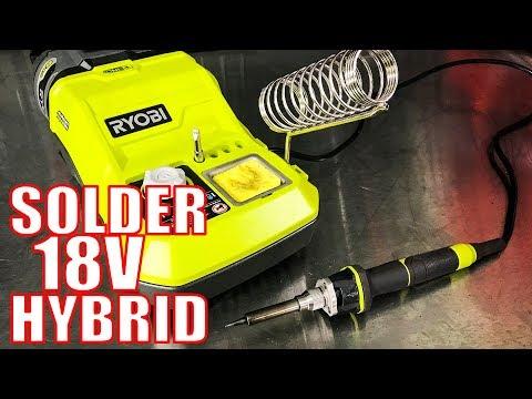 RYOBI P3100 18-Volt ONE+ Hybrid Soldering Station