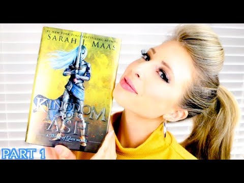 KINGDOM OF ASH BY SARAH J MAAS | booktalk with XTINEMAY (PART 1)