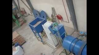 Sand Drying and Sieving System