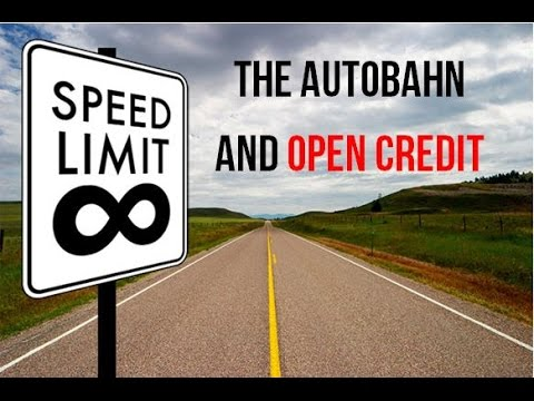 THE AUTOBAHN - OPEN CREDIT