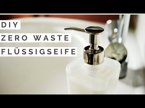 DIY Flüssigseife selber machen I 3 Zutaten I plastikfrei, einfach & schnell