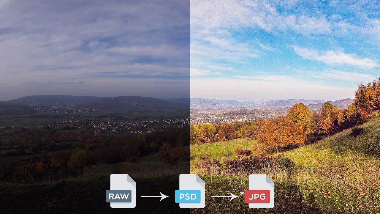 Adobe Camera Raw: RAW-Bilder entwickeln und bearbeiten – Photoshop-Tutorial