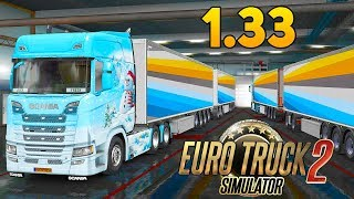 ОБНОВЛЕНИЕ 1.33 - Новые Полуприцепы - Euro Truck Simulator 2
