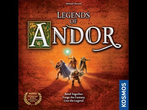 Legends of Andor - A Forensic Gameology Review