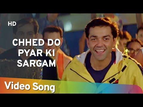 Chhed Do Pyar Ki Sargam   Aashiq (2001)   Bobby Deol   Karisma Kapoor   Filmi Gaane