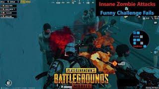 [Hindi] PUBG Mobile   Funny Challenge Fail & Insane Zombie Attacks In Zombie Mode