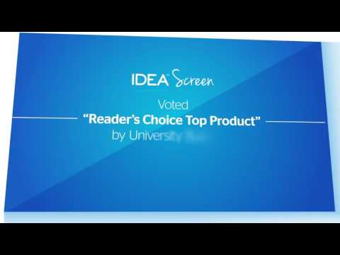 IDEA Screen | Interactive Whiteboard Projection Screen