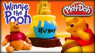 ♥ Play-Doh Disney Winnie the Pooh Making the Honey&Pooh 3D (PLAY-DOH Set for Preschool Kids)