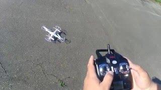 Как управлять квадрокоптером ZYMA X5C 1
