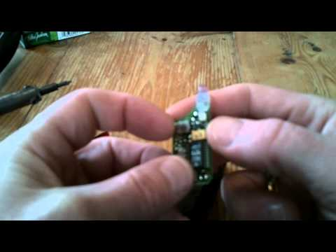 Mercedes w202 key and remote test and repair. battery test