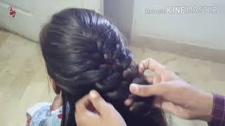 SIMPLE AND BEAUTIFUL HAIRSTYLE FOR EID OCCASIONS 2018 | EASY HAIRSTYLES TUTORIAL