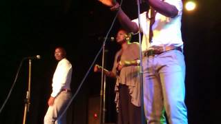 The soil singing (unspoken words and joy) live in durban