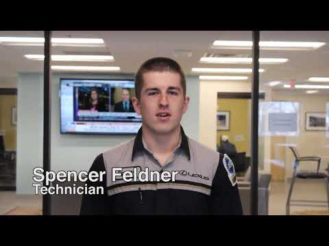 Technician  Spencer Feldner