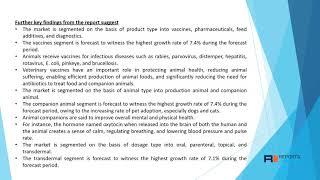 animal health Market: Market Scope and Growing Demands 2020