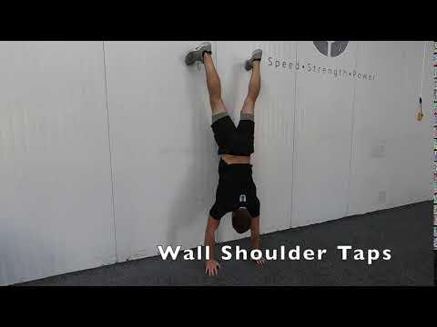 Wall Shoulder Taps