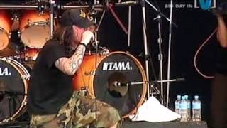 """FEAR FACTORY """"Replica""""  Live in  Big Day Out ´04 (BDO ´04)"""