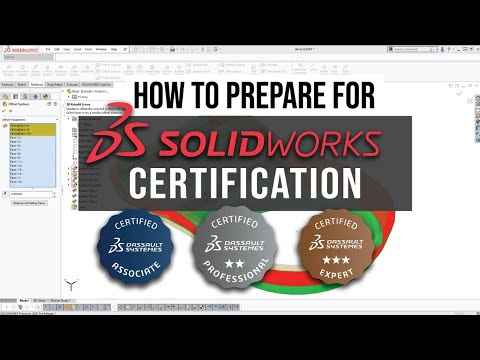 SOLIDWORKS Tutorial - Certification Preparation - YouTube
