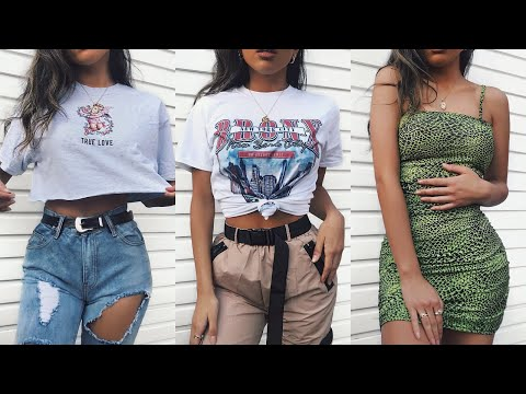 HUGE SPRING / SUMMER TRY ON CLOTHING HAUL 2019 - PLT  |  AD