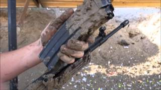 Galil Vz2008 And AR15 Mud Test Who Wins