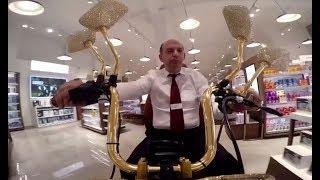 В Лондоне продаётся позолоченная инвалидная коляска стоимостью £45 тысяч