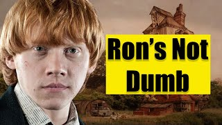 Explaining what went weird with Ron Weasley