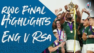 Rugby World Cup Final Highlights: England v South Africa