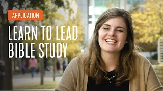 Application - How to Lead Bible Study | InterVarsity