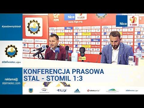 Konferencja prasowa po meczu Stal Mielec - Stomil