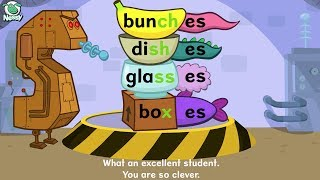 Nessy Spelling: When Do Plurals Use 's' or 'es' (Chapter 4)