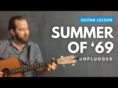 Acoustic guitar lesson for