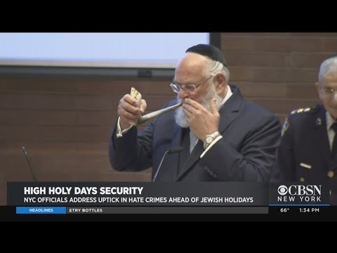 NYC Security Measures Stepped Up Ahead Of Jewish High Holy Days