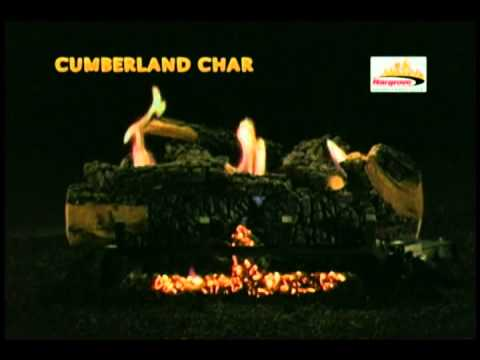 Cumberland Char Vent-Free Gas Logs