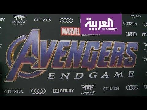 العرب اليوم - شاهد: هوليوود تحتفل بآخر أفلام سلسلة أفنجرز الناجحة